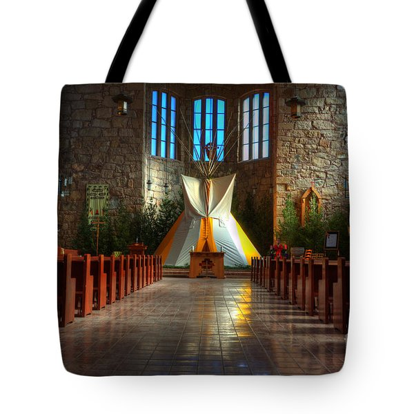 Saint Josephs Apache Mission Tote Bag