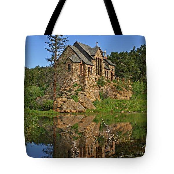 Saint Malo Reflection Tote Bag