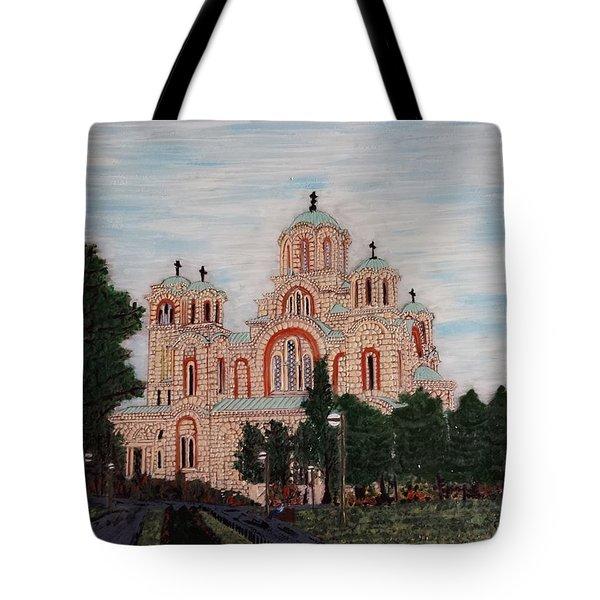 Saint Marko Church  Belgrade  Serbia  Tote Bag by Jasna Gopic