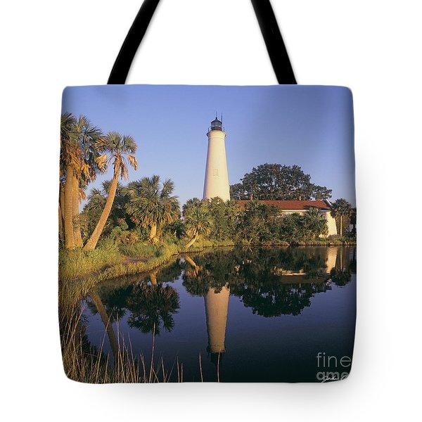 Saint Mark's Lighthouse Tote Bag