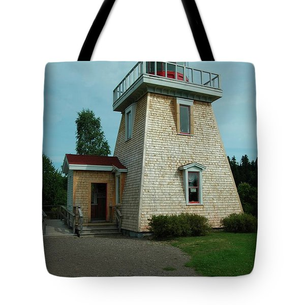 Saint Martin's Lighthouse Tote Bag by Kathleen Struckle