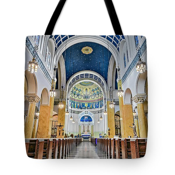 Saint Mary's Altar Tote Bag by Susan Candelario