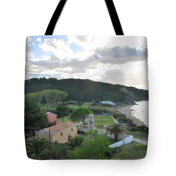 Tote Bag featuring the photograph Saint Nicholas 1822 by George Katechis