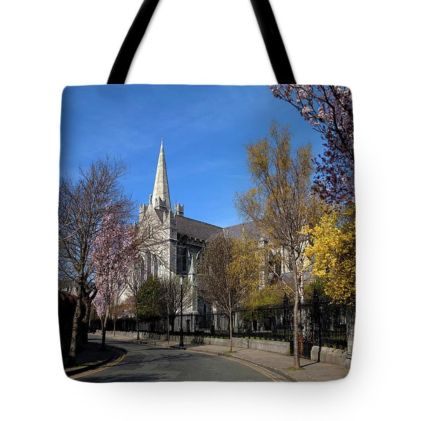Saint Patricks Cathedral Founded Tote Bag