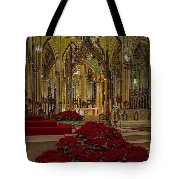 Saint Patricks Cathedral Tote Bag by Susan Candelario