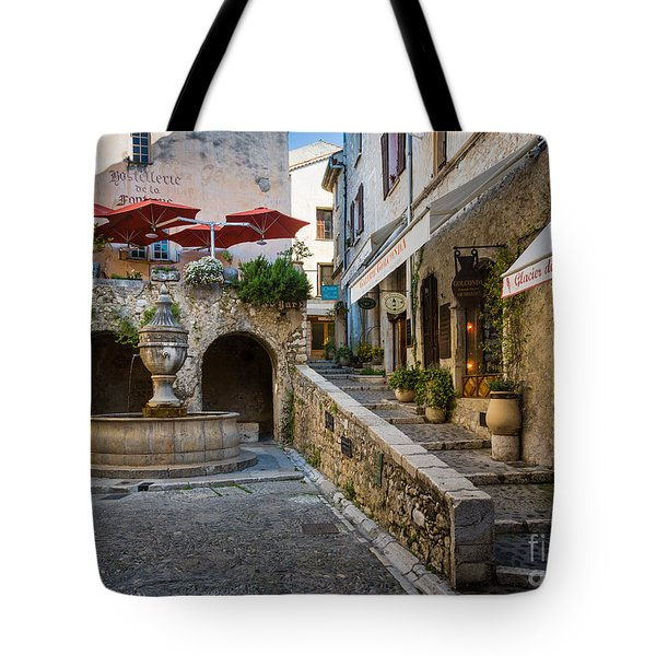 Saint Paul Square Tote Bag by Inge Johnsson