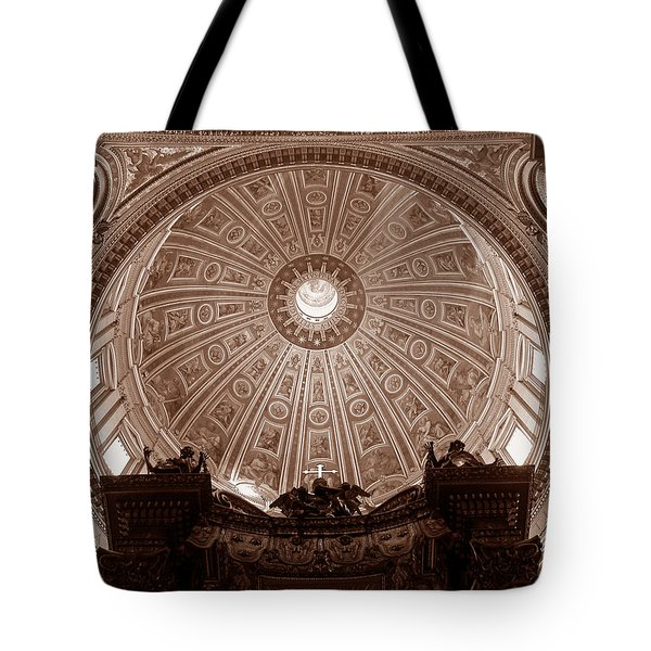 Saint Peter Dome Tote Bag