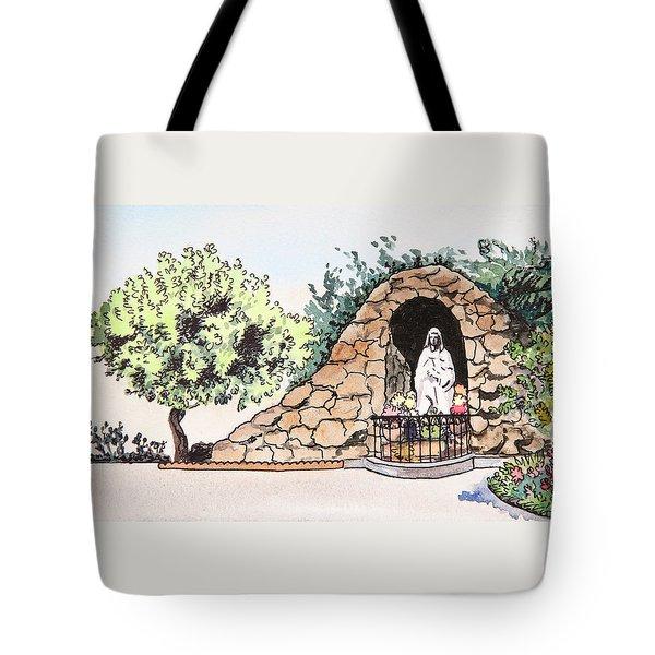 Saint Rosa Tote Bag