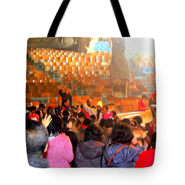 Cave  Church In Egypt Tote Bag