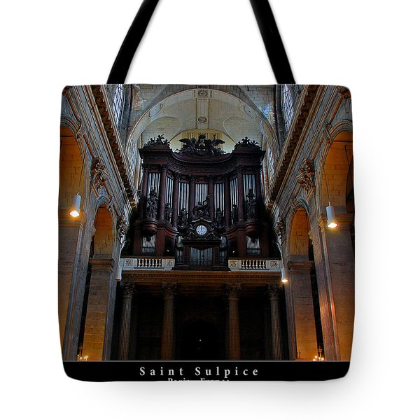 Saint Sulpice Tote Bag by Dany Lison