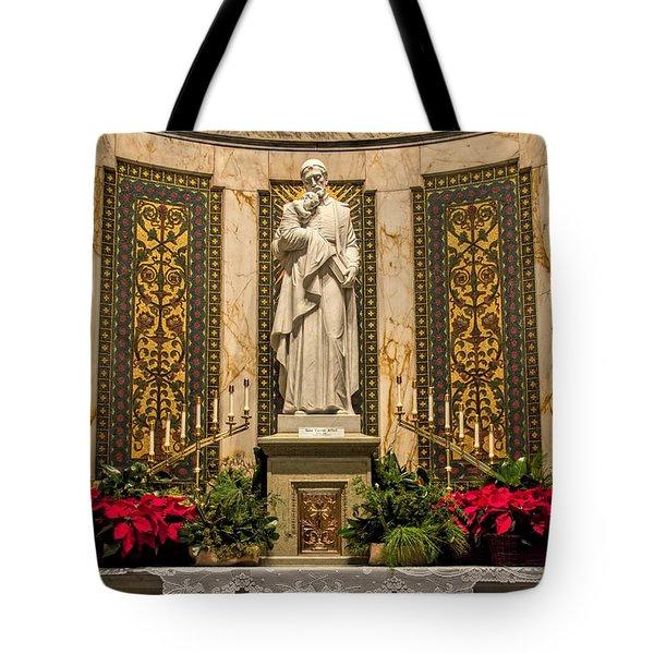 Saint Vincent Depaul Chapel Tote Bag