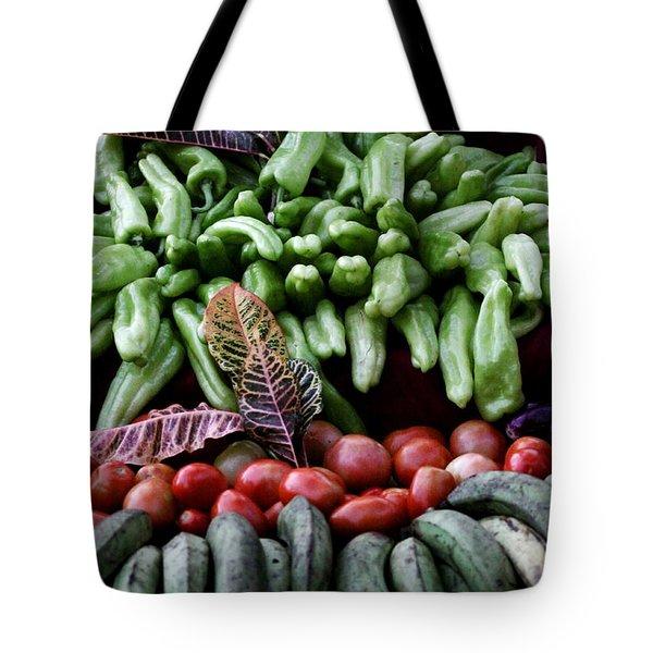 Salad Fixings Tote Bag