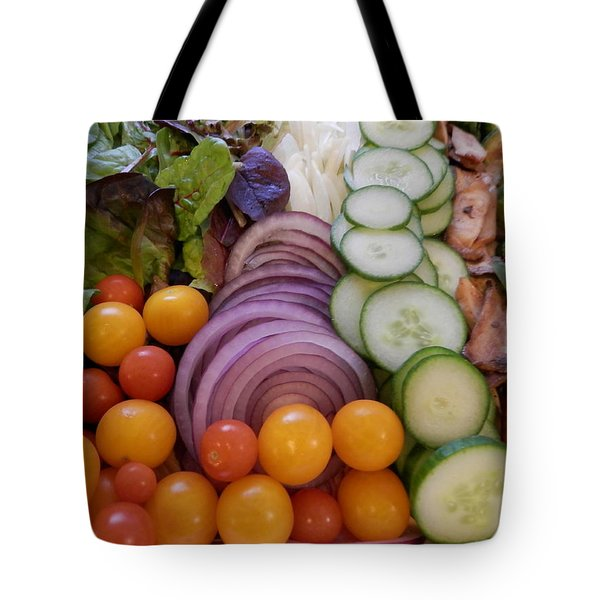 Salad Tote Bag by Pema Hou