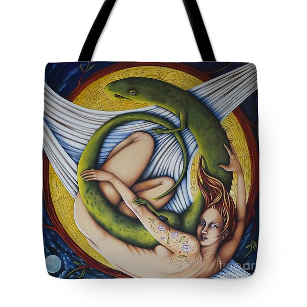 Salamander Session Tote Bag