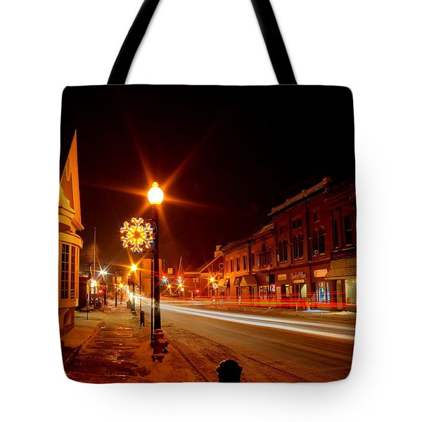Salem Ohio Christmas Tote Bag