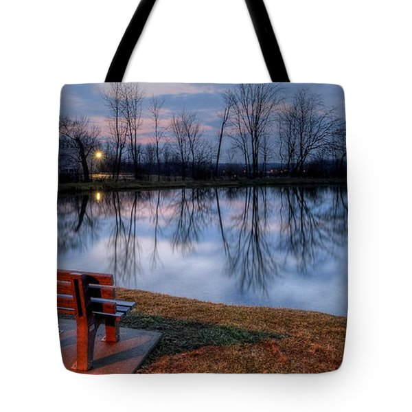 Salem Ohio Industrial Park Sunset Tote Bag