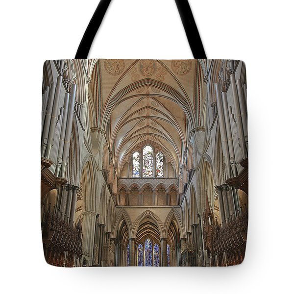 Salisbury Cathedral Quire And High Altar Tote Bag