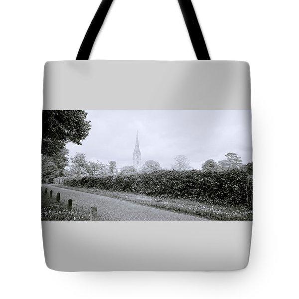 Salisbury Cathedral Tote Bag by Shaun Higson