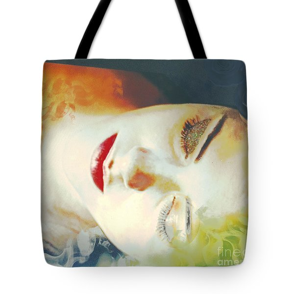 Sally Sleeps Tote Bag