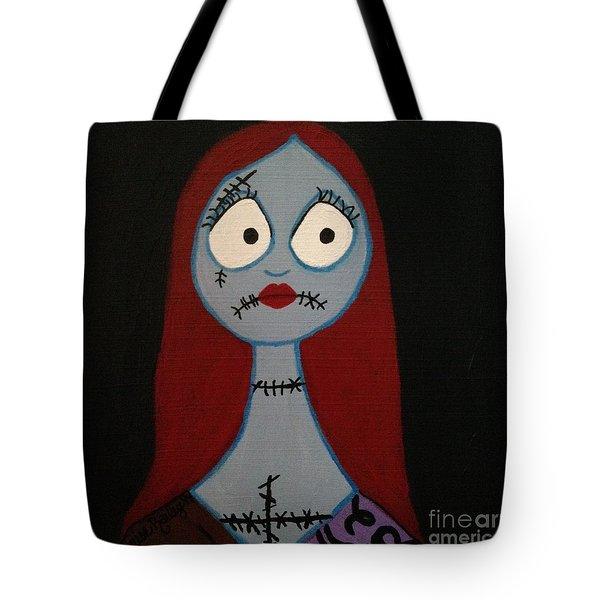 Sally Waits For Jack Tote Bag