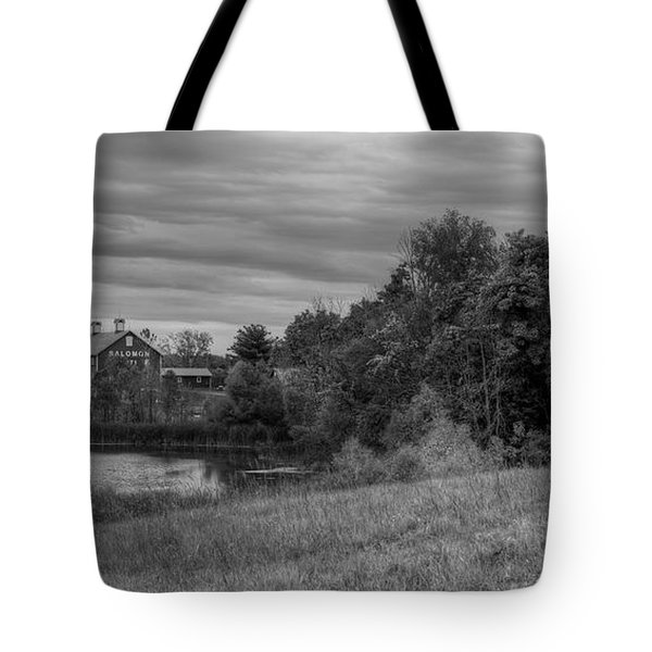 Salomon Farm In The Fall Tote Bag