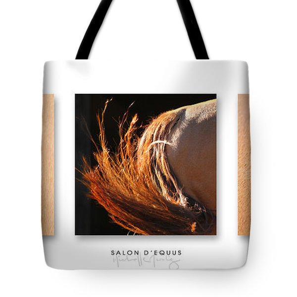 Salon D'equus Dark Tote Bag