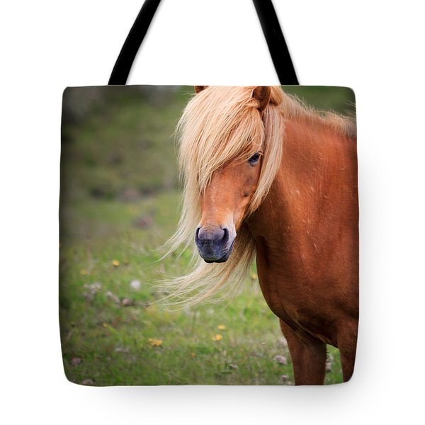 Tote Bag featuring the photograph Salon Perfect Pony by Peta Thames