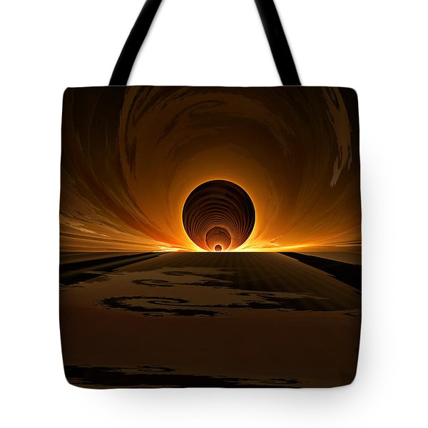 Salsa Sunrise Tote Bag by GJ Blackman