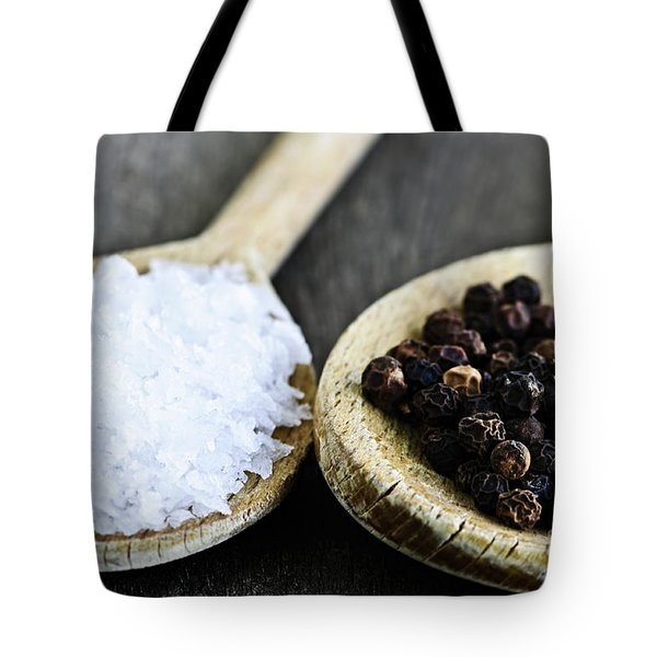 Salt And Pepper Tote Bag by Elena Elisseeva