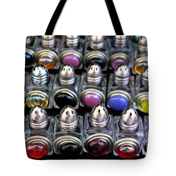 Tote Bag featuring the photograph Salt And Pepper Soldiers by John S