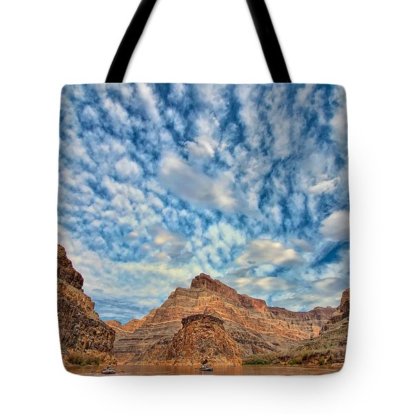Salt Creek Clouds Tote Bag