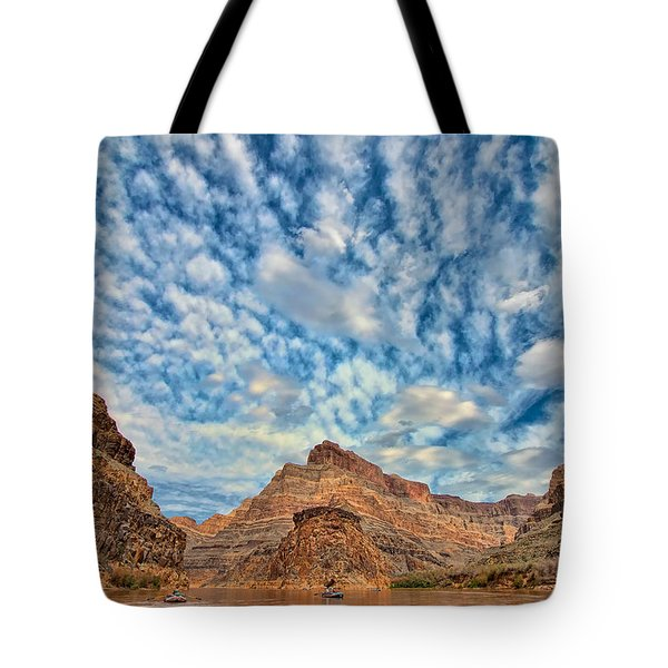 Salt Creek Clouds Tote Bag by Britt Runyon