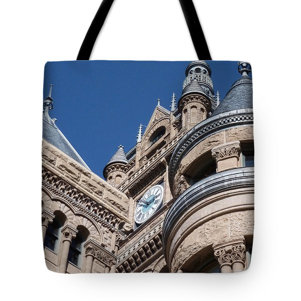 Tote Bag featuring the photograph Salt Lake City - City Hall - 1 by Ely Arsha