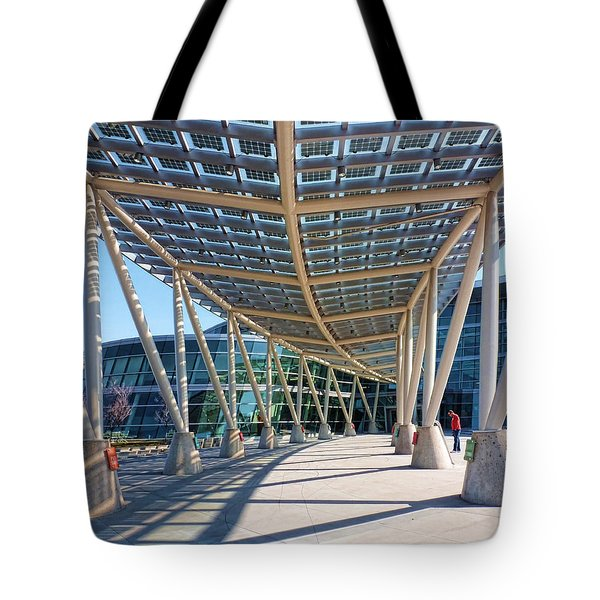 Tote Bag featuring the photograph Salt Lake City Police Station - 2 by Ely Arsha