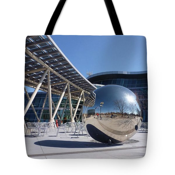 Tote Bag featuring the photograph Salt Lake City Police Station - 1 by Ely Arsha