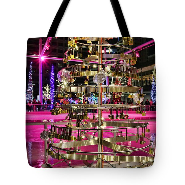 Tote Bag featuring the photograph Salt Lake City - Skating Rink - 1 by Ely Arsha
