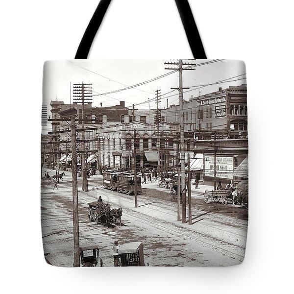 Salt Lake City Utah Tote Bag by Unknown