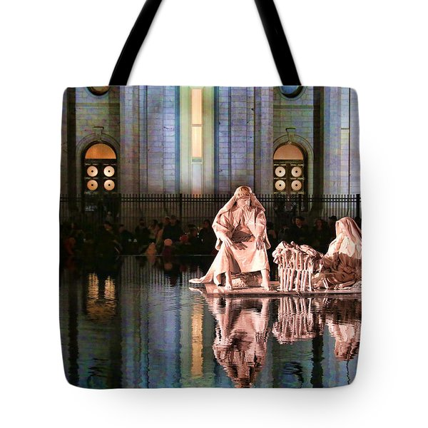 Tote Bag featuring the photograph Salt Lake Temple - 2 by Ely Arsha