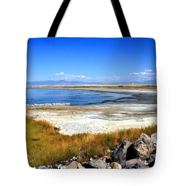 Salt Lake Utah Tote Bag
