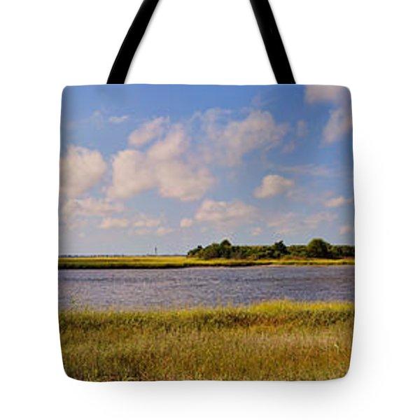 Salt Marsh Morning - Southport Tote Bag