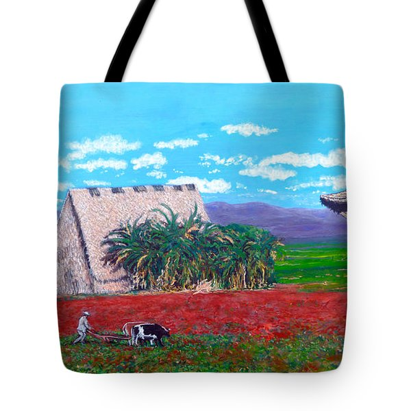 Salt Of The Earth Tote Bag by Tom Roderick