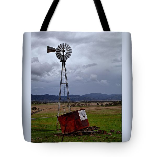 Salt Springs Windmill Tote Bag