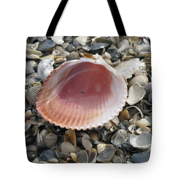 Salt Water Cockle Tote Bag