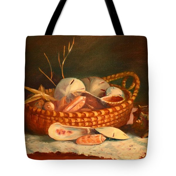 Tote Bag featuring the painting Salty And Sweet by Dorothy Allston Rogers