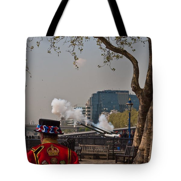 Salute For The Queen Tote Bag