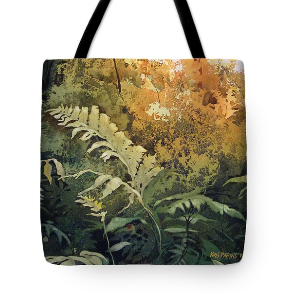 Salute To The Sun Tote Bag by Kris Parins
