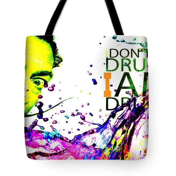 Salvador Dali Pop Art Tote Bag by Eti Reid
