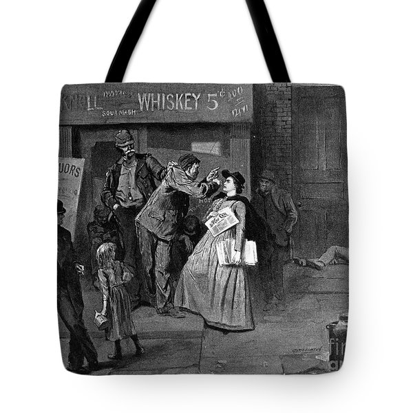 Salvation Army In Slums Tote Bag by Granger