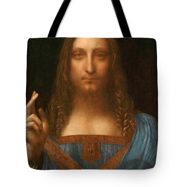 Salvator Mundi Tote Bag