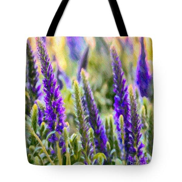 Salvia Sway Tote Bag